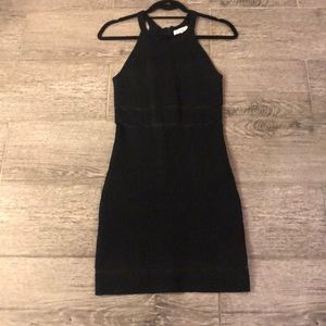 Parker Dress Navy|Black
